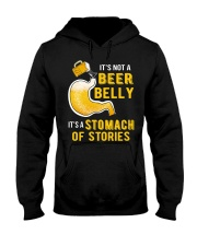 Stomach Of Stories Hooded Sweatshirt front