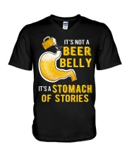 Stomach Of Stories V-Neck T-Shirt thumbnail