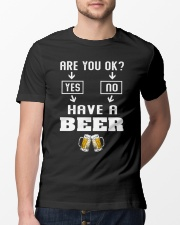 Are You Ok Classic T-Shirt lifestyle-mens-crewneck-front-13