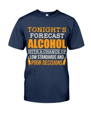 Tonight's Forecast Classic T-Shirt front