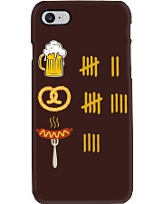 Beer Pretzel Sausage Phone Case thumbnail