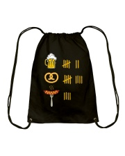 Beer Pretzel Sausage Drawstring Bag thumbnail