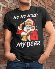 Ho Ho Hold My Beer Classic T-Shirt apparel-classic-tshirt-lifestyle-26