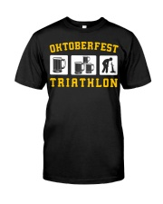 Oktoberfest Triathlon Classic T-Shirt front