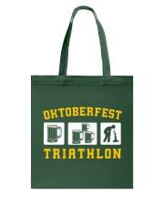 Oktoberfest Triathlon Tote Bag thumbnail
