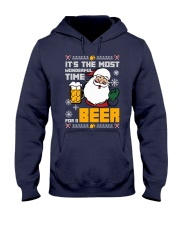 Wonderful Time For Beer Hooded Sweatshirt thumbnail