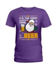 Wonderful Time For Beer Ladies T-Shirt thumbnail