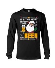 Wonderful Time For Beer Long Sleeve Tee thumbnail
