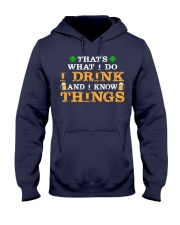 I Drink Hooded Sweatshirt thumbnail