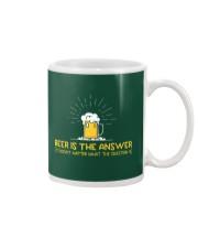 Beer Is The Answer Mug thumbnail