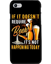 Require Beer Phone Case thumbnail
