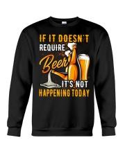 Require Beer Crewneck Sweatshirt thumbnail