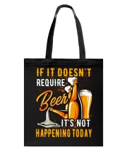 Require Beer Tote Bag thumbnail