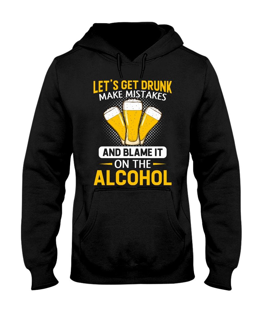 Let's Get Drunk Hooded Sweatshirt