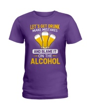 Let's Get Drunk Ladies T-Shirt thumbnail