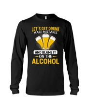 Let's Get Drunk Long Sleeve Tee thumbnail