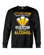 Let's Get Drunk Crewneck Sweatshirt thumbnail