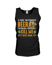 Without Beer Unisex Tank thumbnail