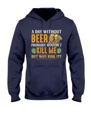 Without Beer Hooded Sweatshirt thumbnail