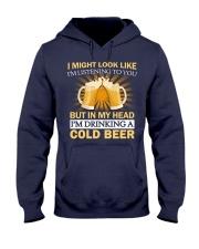 Drinking A Cold Beer Hooded Sweatshirt thumbnail