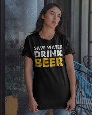 Save Water Drink Beer Classic T-Shirt apparel-classic-tshirt-lifestyle-08