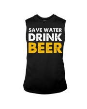 Save Water Drink Beer Sleeveless Tee thumbnail