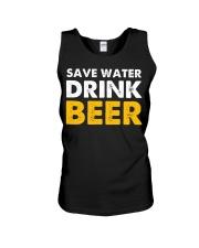 Save Water Drink Beer Unisex Tank thumbnail