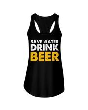 Save Water Drink Beer Ladies Flowy Tank thumbnail