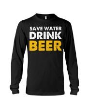 Save Water Drink Beer Long Sleeve Tee thumbnail