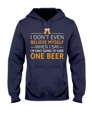 I Don't Believe Myself Hooded Sweatshirt thumbnail