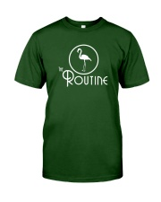 The Routine - Classic White Flamingo Collection Classic T-Shirt front