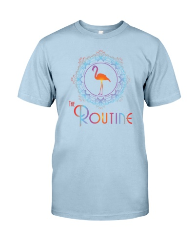 The Routine - Mandala Flamingo Collection
