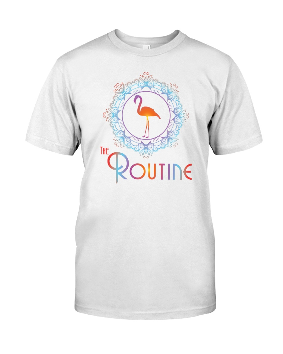 The Routine - Mandala Flamingo Collection Classic T-Shirt