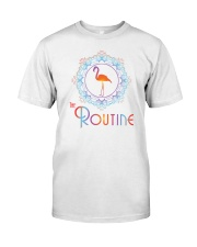 The Routine - Mandala Flamingo Collection Classic T-Shirt front
