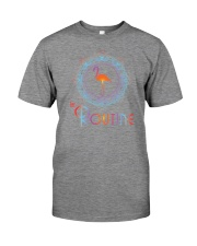 The Routine - Mandala Flamingo Collection Premium Fit Mens Tee front