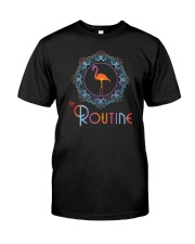 The Routine - Mandala Flamingo Collection Premium Fit Mens Tee thumbnail