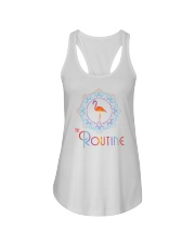 The Routine - Mandala Flamingo Collection Ladies Flowy Tank thumbnail