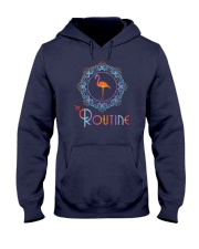 The Routine - Mandala Flamingo Collection Hooded Sweatshirt front