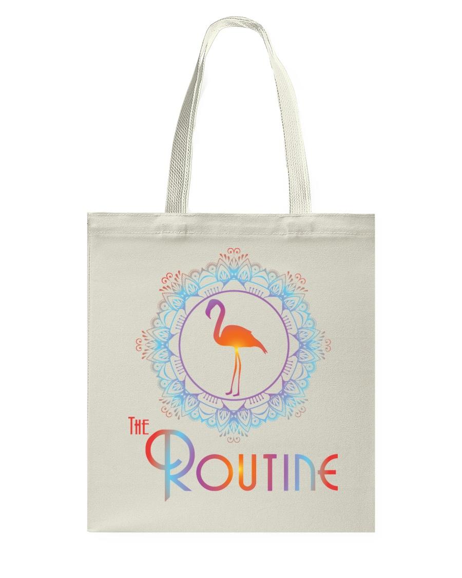 The Routine - Mandala Flamingo Collection Tote Bag