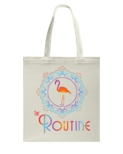 The Routine - Mandala Flamingo Collection Tote Bag thumbnail