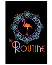 The Routine - Mandala Flamingo Collection 16x24 Poster front