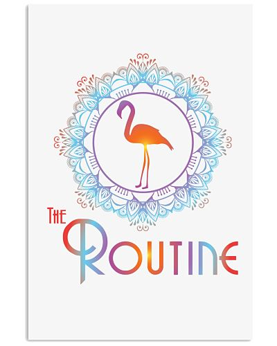 The Routine - Mandala Flamingo Collection
