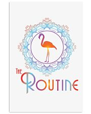 The Routine - Mandala Flamingo Collection 16x24 Poster thumbnail