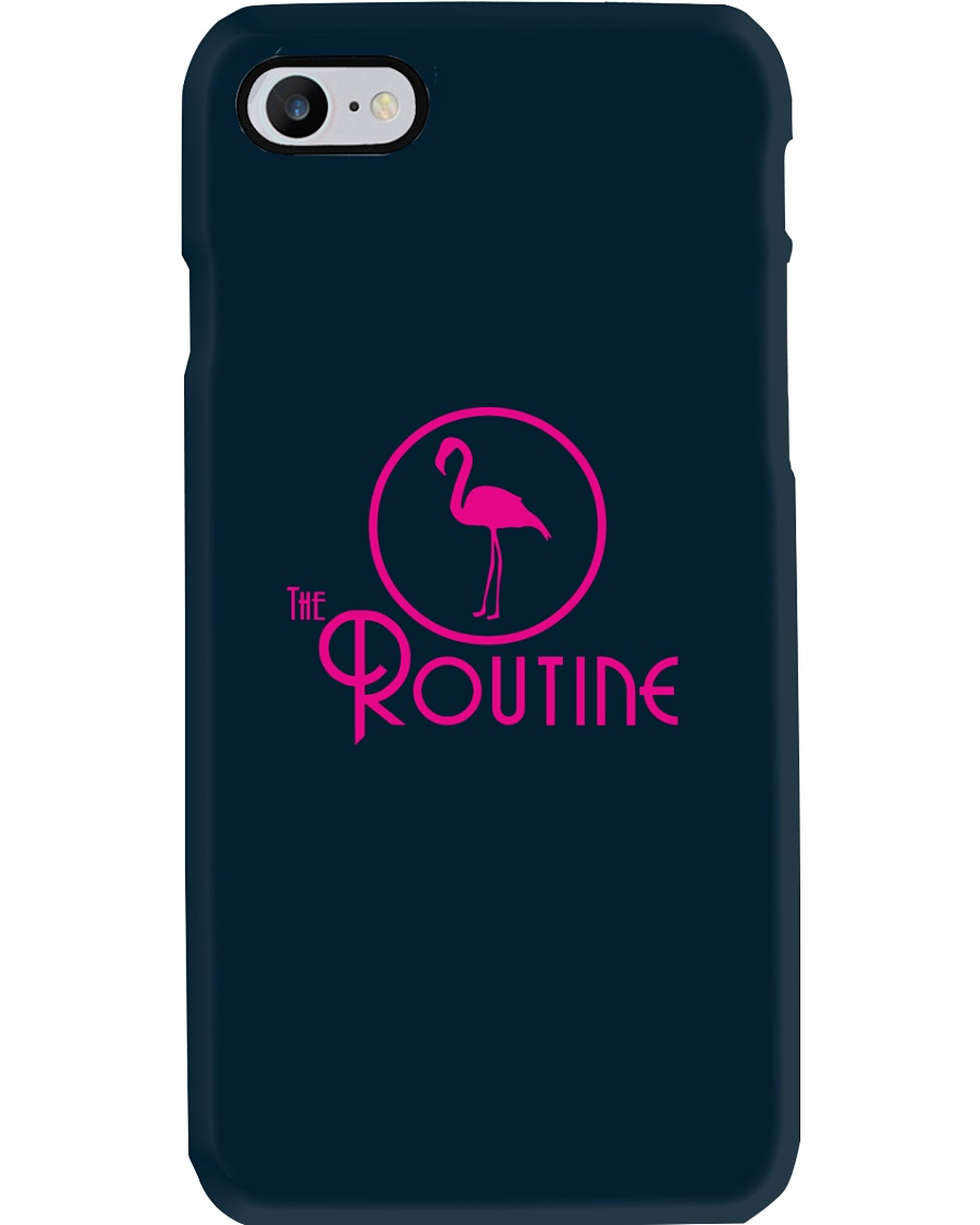 The Routine - Classic Pink Flamingo Collection Phone Case