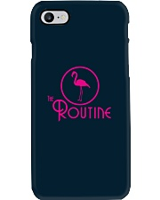 The Routine - Classic Pink Flamingo Collection Phone Case i-phone-7-case