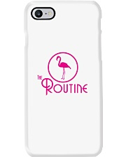 The Routine - Classic Pink Flamingo Collection Phone Case thumbnail