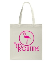 The Routine - Classic Pink Flamingo Collection Tote Bag thumbnail