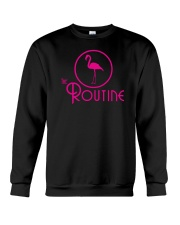 The Routine - Classic Pink Flamingo Collection Crewneck Sweatshirt thumbnail