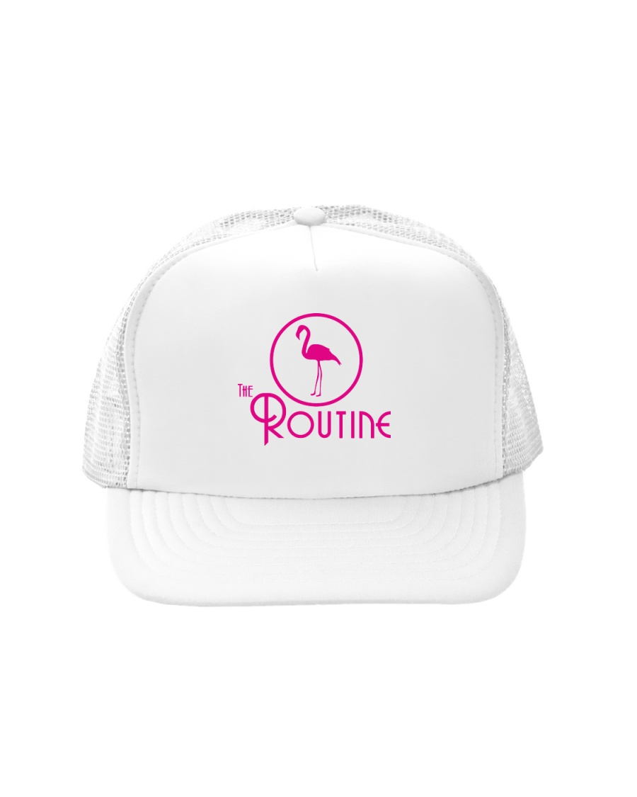 The Routine - Classic Pink Flamingo Collection Trucker Hat