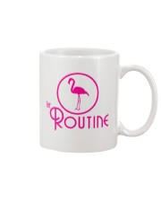 The Routine - Classic Pink Flamingo Collection Mug thumbnail